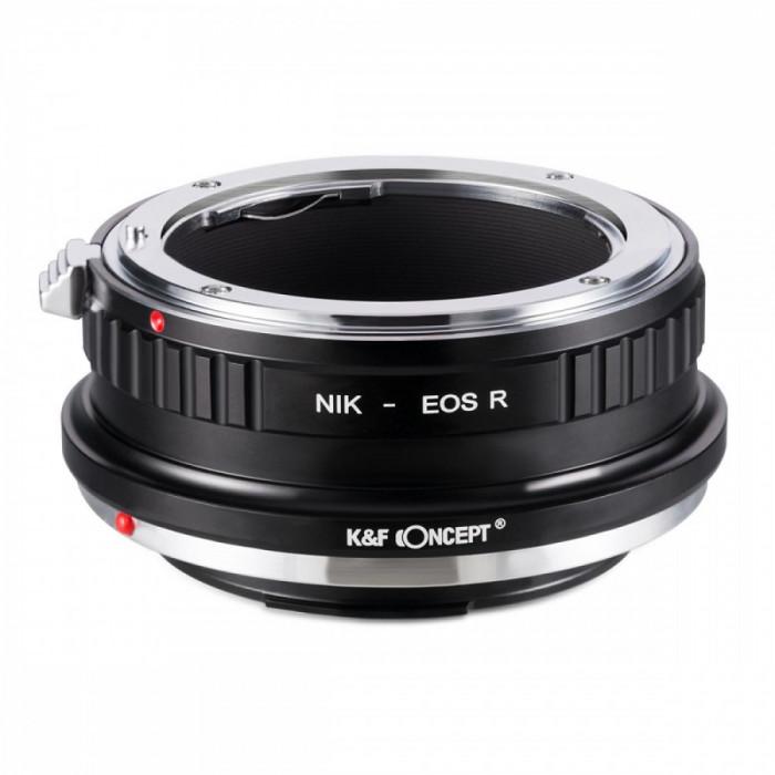 K&F Concept Nikon-EOS R adaptor montura de la Nikon AI la Canon EOS R KF06.379