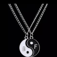 Pandantiv, set pandantive yin si yang BF, perfect pt Valentine's Day