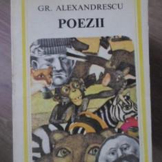 POEZII - GR. ALEXANDRESCU