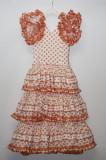 Rochita  flamengo cu buline handmade, Masura unica, Multicolor