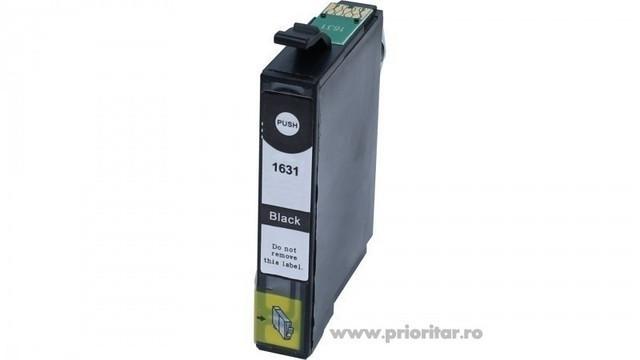 Cartus negru EPSON 16XL T-1631 ( T16314010) T1631 compatibil Epson WorkForce...
