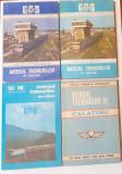 Mersul Trenurilor De Calatori - Lot 4 Bucati 1983, 1984, 1985/1986, 1988 - CFR