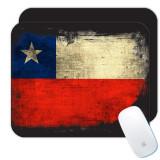 Chili : Cadou Mouse pad : Distressed Flag Chile Expat Tara, Generic