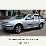 Paravanturi VW Golf IV 5 usi 1997-2003 hatchback, combi set 4 deflectoare