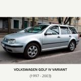 Paravanturi VW Golf IV 5 usi 1997-2003 hatchback, combi set 4 deflectoare