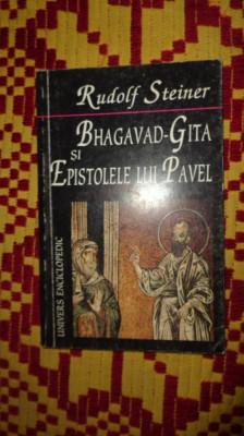 bhagavad-gita si epistolele lui pavel141pagini- rudolf steiner foto