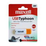 Memorie Flash Maxell Typhoon, USB 3.1, Capacitate 64 GB