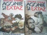 Irving Stone - AGONIE SI EXTAZ { 2 volume }/ 1993