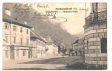 SV * Romania   BAILE HERCULANE  *  PIATA  *  1905, Circulata, Printata