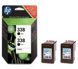 Set cartuse cerneala HP 338 Black Twin-Pack