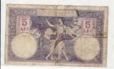Romania  1916  5 lei  4 august 08093483      t.0324-0433