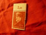 Serie Germania 1941 - Hitler la 52 ani  , 1 valoare ,(un dinte ciupit)