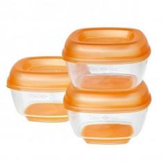 8 recipiente mici pentru congelat Press n Pop 4 luni+