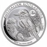 Moneda argint lingou + cutieAA , Kookaburra 2019 privy Panda 1 oz=31 g