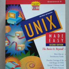 UNIX system V made easy (sisteme de operare) (programare) (in limba engleza)