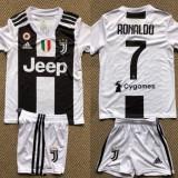 Compleu ADIDAS Fc Juventus RONALDO copii 6-14 ani-pantalon conic, L, M, S, XL, XXL, Din imagine