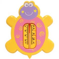 Termometru pentru Baie Baby Care Turtle Yellow