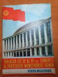 revista viata militara iunie 1960-al 3-lea congres al partidului muncitoresc