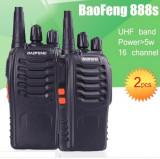 Cumpara ieftin Set 2 buc Baofeng BF-888S UHF 400-470MHz 16CH PROGRAMABILE