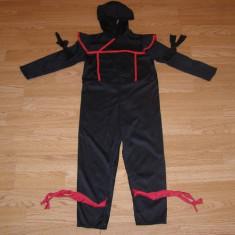 Costum carnaval serbare ninja pentru copii de 4-5-6 ani, Din imagine