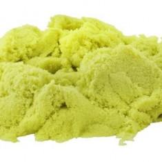 Nisip kinetic modelabil pentru copii, pachet 1 kg, culoare Verde