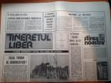 "ziarul tineretul liber 8 februarie 1990-art. "" protest la protest """