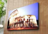 Tablou decorativ pe panza Horizon, 237HRZ4274, 70 x 100 cm, Multicolor