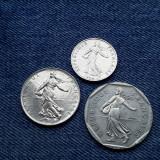 #9 Lot 1/2 Franc 1997+ 1 Franc 1976 + 2 Francs 1997 Franta / franci / 3 monede, Europa