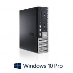 Calculatoare Refurbished Dell OptiPlex 790 USFF, i7-2600, 8GB, 120GB SSD, Win 10 Pro