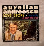 """Vand disc/vinil Aurelian Andreescu 7"""" 45 RPM, electrecord"""