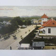 Carte postala Baile Pucioasa-Primaria,circulata 1923, Printata
