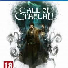 Joc consola Focus Home Interactive Call of Cthulhu pentru PS4