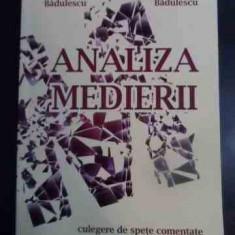 Analiza Medierii - Alina Badulescu, Dorin Badulescu ,545354