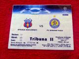 Bilet meci fotbal STEAUA BUCURESTI - DINAMO KIEV (21.11.2006)