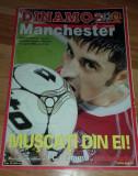 Program Fotbal Dinamo Manchester United 2004 Champions League bilet Romania