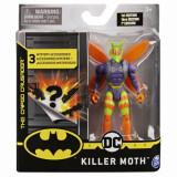 Figurina Killer Moth cu 3 accesorii surpriza, 10 cm, Spin Master