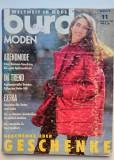 Revista Burda nr 11 din 1992, limba germana