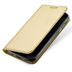 Husa Samsung Galaxy J5 2017 - DUX DUCIS Book Type Gold