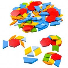 Joc creativ Mozaic Bigligs, 250 piese, 3 ani+