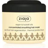 Ziaja Argan Oil masca pentru netezire pentru păr uscat și deteriorat