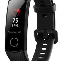 Bratara Fitness Huawei Honor Band 4, Bluetooth, NFC, Rezistenta la apa (Negru)