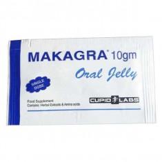 Jeleu pentru potenta Makagra, gel pentru stimularea erectiei (1 plic)