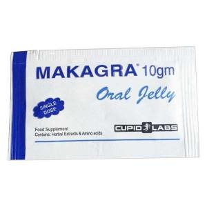 Jeleu pentru potenta Makagra, gel pentru stimularea erectiei (cutie cu 7 plicuri)