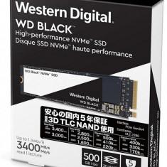 WD SSD 500GB BLACK M.2 2280 WDS500G2X0C