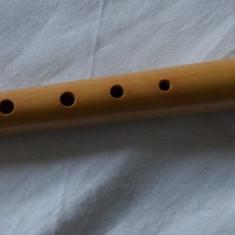 Fluier profesional din lemn / Fluier original lemn cires
