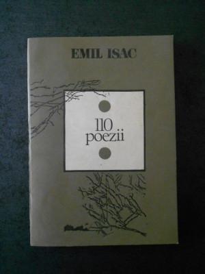EMIL ISAC - 110 POEZII foto