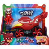 Jucarie Pj Masks Power Racer Owl Glider & Figure