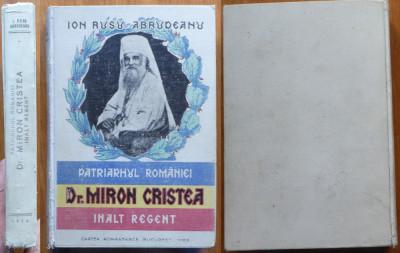Ion Rusu Abrudeanu , Patriarhul Romaniei Dr. Miron Cristea , Inalt Regent , 1929 foto