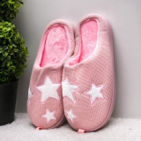 Papuci dama de casa roz pal Bambisa