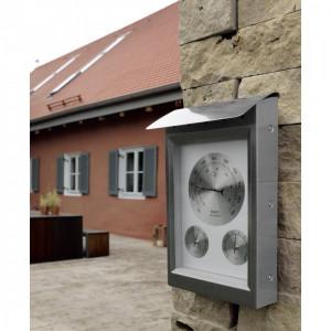 Statie meteo de exterior Hama Milano silver